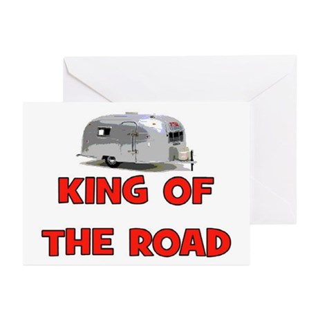 KING OF THE ROAD Greeting Cards (Pk of 10)