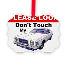 1979 Chrysler 300 Cordoba Do Not  Ornament