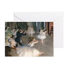 Bag Degas Onstage Greeting Card