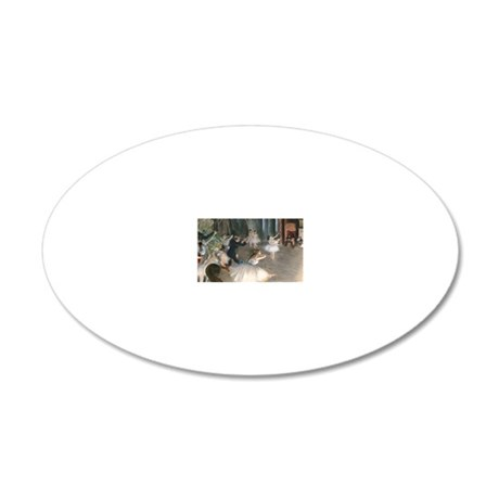 Coin Degas Onstage 20x12 Oval Wall Decal