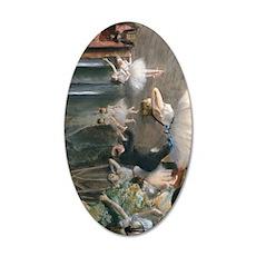 iPad Degas Onstage 35x21 Oval Wall Decal