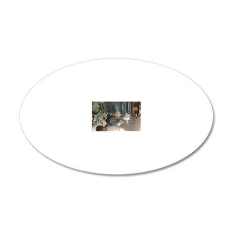 RM Degas Onstage 20x12 Oval Wall Decal