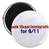 "Thank Illegal Immigration 2.25"" Magnet (100 pack)"