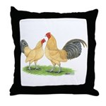 Blue-tail Buff OE Throw Pillow