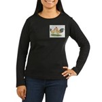 Blue-tail Buff OE Women's Long Sleeve Dark T-Shirt