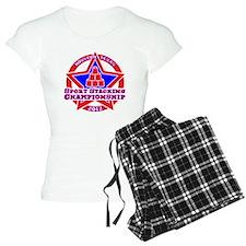 on blk Texas Championship Pajamas