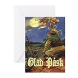 Glad Påsk 8 Greeting Cards (Pk of 10)