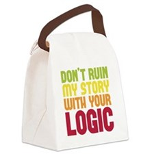 ruindrk copy Canvas Lunch Bag