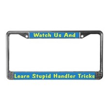 Watch Us License Plate Frame