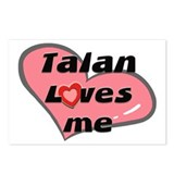 talan loves me  Postcards (Package of 8)