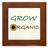 grow organic Framed Tile