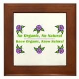 no organic Framed Tile