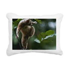 Slow loris (Nycticebus c Rectangular Canvas Pillow