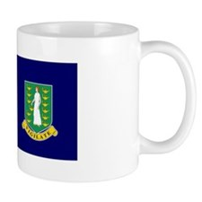 The British Virgin Islands flag Mug