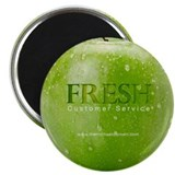 "Fresh Customer Service 2.25"" Magnet (100 pack)"