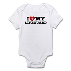 I Love My Lifeguard Infant Bodysuit