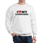 I Love My Lifeguard Sweatshirt
