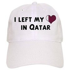 Left my heart in Qatar Baseball Cap