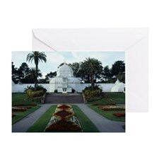 Conservatory of flowers, San Francis Greeting Card