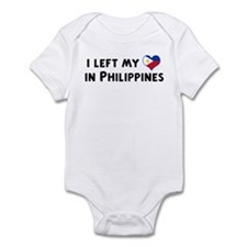 Left my heart in Philippines Infant Bodysuit