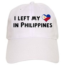 Left my heart in Philippines Baseball Cap