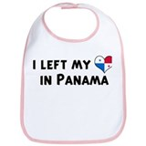 Left my heart in Panama Bib