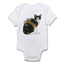 Calico Cat Infant Bodysuit