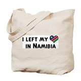 Left my heart in Namibia Tote Bag
