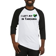 Left my heart in Tanzania Baseball Jersey