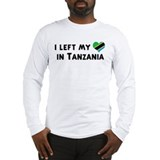 Left my heart in Tanzania Long Sleeve T-Shirt