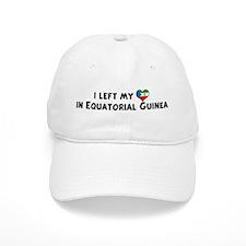 Left my heart in Equatorial G Baseball Cap