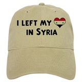 Left my heart in Syria Baseball Cap