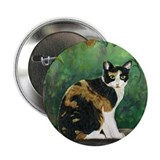 "Calico Cat 2.25"" Button (10 pack)"