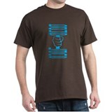 Mens Dumbell T-Shirt (blue)