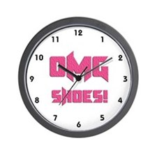 OMG Shoes 1.0 Wall Clock