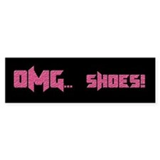 OMG Shoes 1.0 Bumper Bumper Sticker