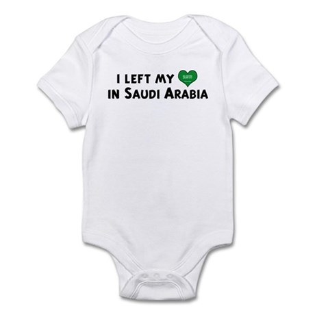 Left my heart in Saudi Arabia Infant Bodysuit
