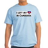 Left my heart in Cambodia T-Shirt