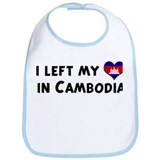 Left my heart in Cambodia Bib