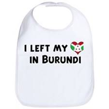 Left my heart in Burundi Bib