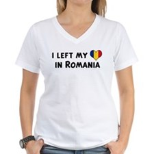 Left my heart in Romania Shirt