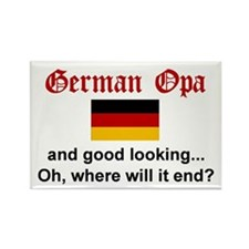 German Opa-Good Lkg Rectangle Magnet