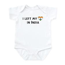 Left my heart in India Onesie
