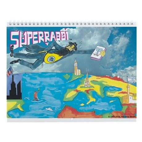 SUPERRABBI (SUPER RABBI) Wall Calendar