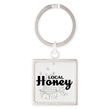 local honey2 Square Keychain
