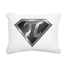 Super Pi - math super he Rectangular Canvas Pillow