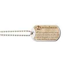 2nd Amendment Vintage Dog Tags