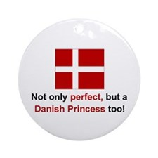 Perfect Danish Princess Keepsake Ornament