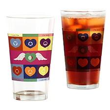 Hooponopono Drinking Glass