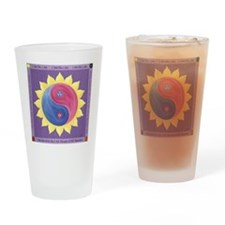 Violet Fire Drinking Glass